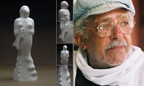 Sculptor Adam Henein