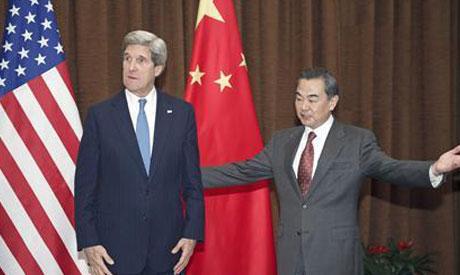 John Kerry,Wang Yi