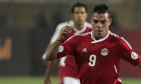 Egyptian player Amr Zaki