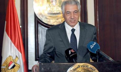 Interim finance minister Ahmed Galal