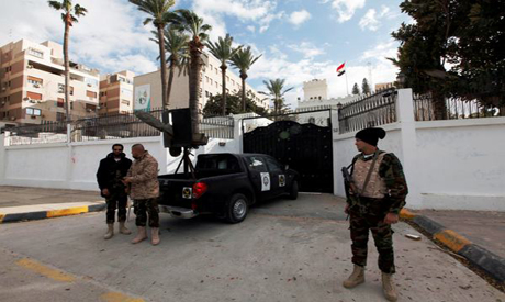 Egyptian embassy in Libya