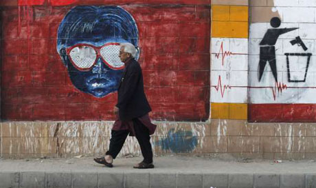 Graffiti in Karachi