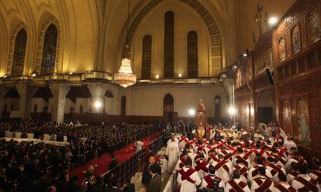 Coptic Christmas Eve mass 2012