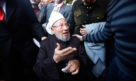 Egyptian cleric Sheikh Yousef al-Qaradawi