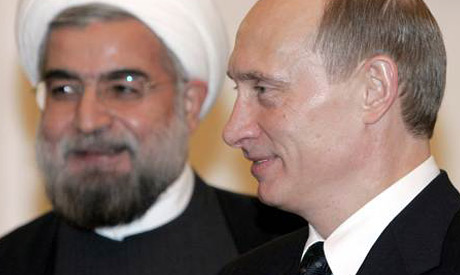 Hassan Rowhani,Vladimir Putin