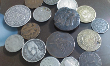 archive photo of islamic coins