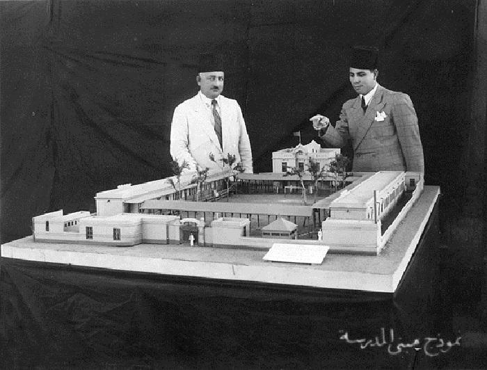 A school building prototype in the forties