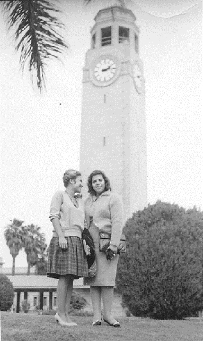 Cairo University and the famous clock tower