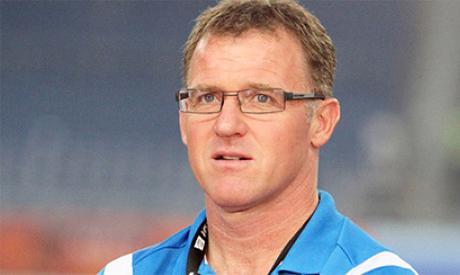 Botswana manager Peter Butler