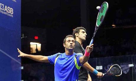 Egyptian squash star Amr Shabana