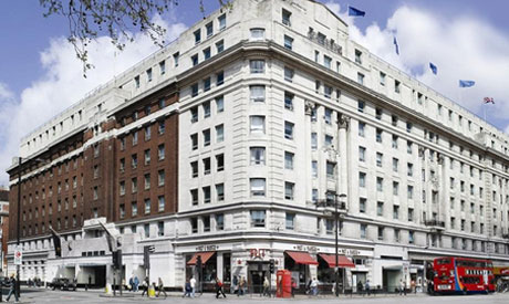 London's four-star Cumberland Hotel