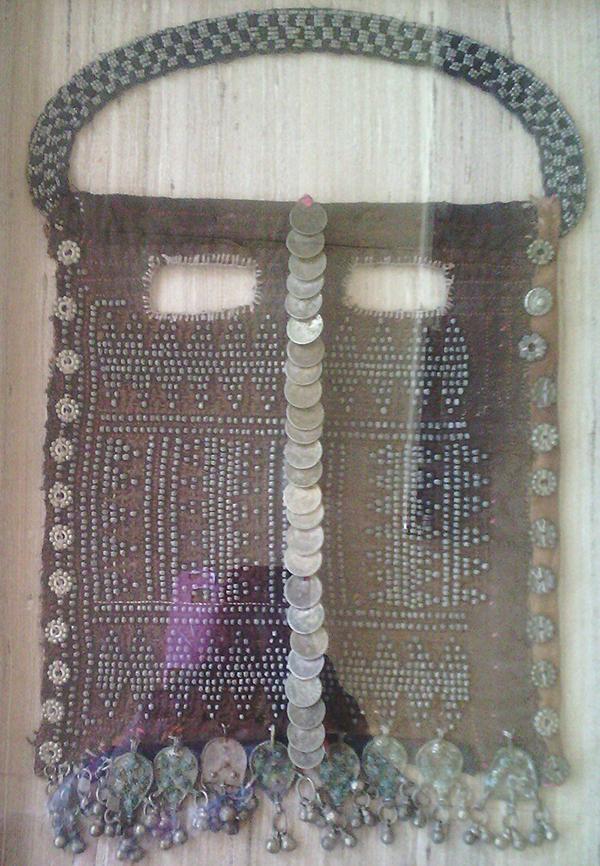 Bedouin veil