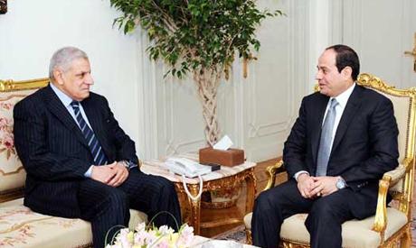 Mahlab with Sisi