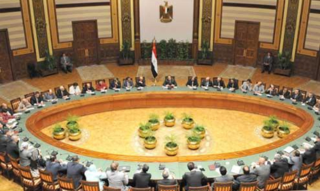 El-Sisi meeting with the editors-in-chief