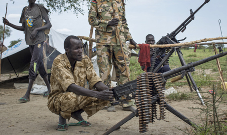 Ahram Online - Heavy fighting in South Sudan oil town: Army