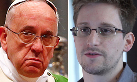 Snowden and the Pope