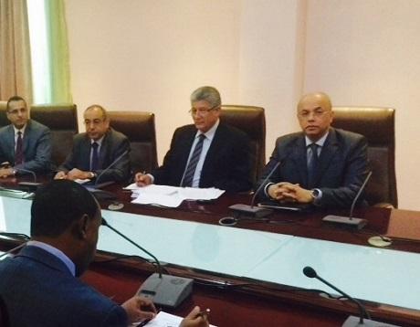Officials at Addis Ababa