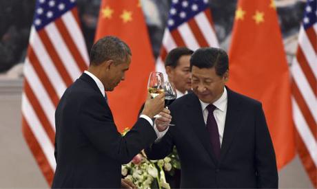 Obama, Jinping