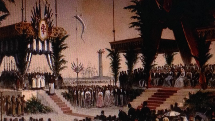 Opening Ceremony of Suez Canal 1869