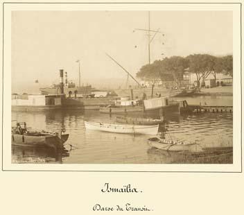 Ismailia transit dock 1869-1885 photo by Arnoux
