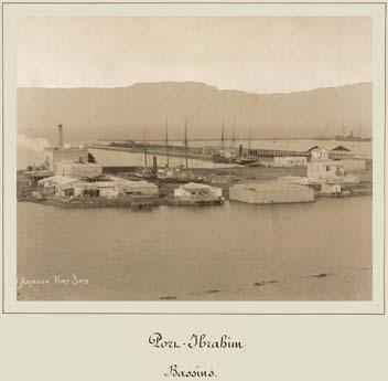 port Ibrahim Suez photo by Arnoux 1869-1885