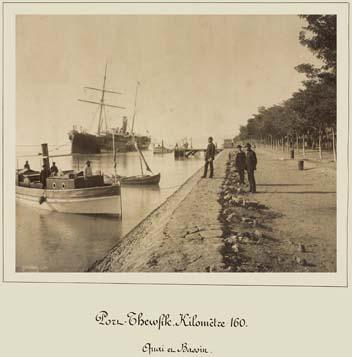 Port Tawfik Quary and basin  photo by Zangaki 1869-1885