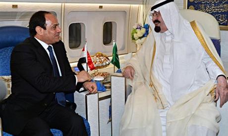 Sisi and King Abdullah