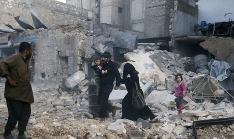barrel bomb strikes