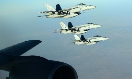Air strikes on IS militants