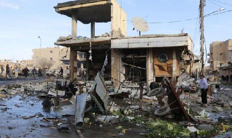 Raqqa city