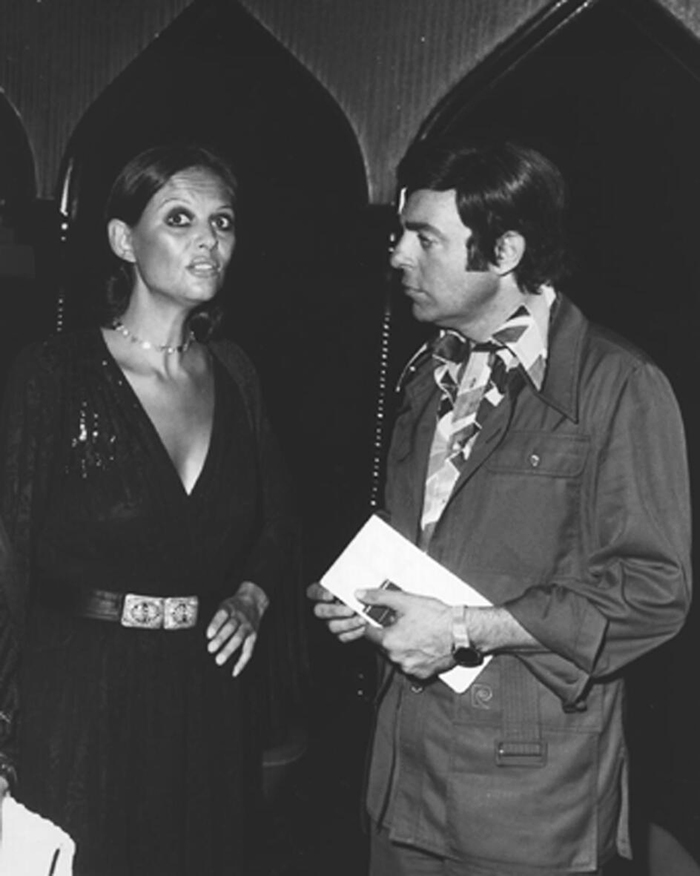 Claudia Cardinale with Samir Sabry