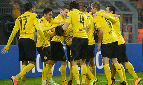 dortmund cruise into last 16 with win over galatasaray. Black Bedroom Furniture Sets. Home Design Ideas