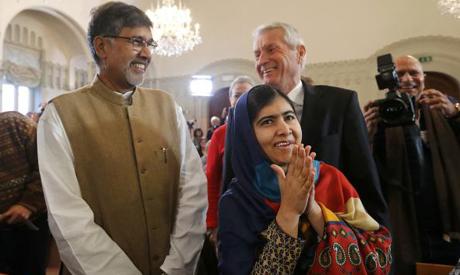 Malala, Satyarthi