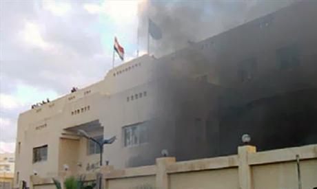 North Sinai police station