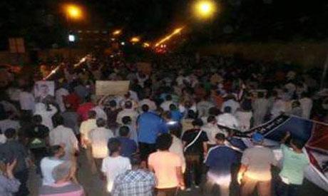 Pro-Morsi march Ismailia