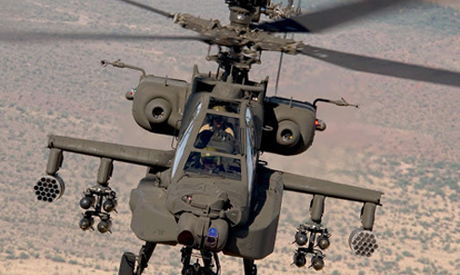 Apache helicopter (AP)
