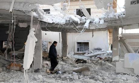 Damaged Syria
