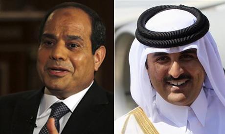 El-Sisi and Tamim