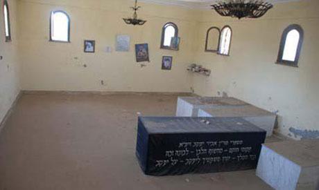 "the shrine of the Jewish saint ""Abu Hasira"""