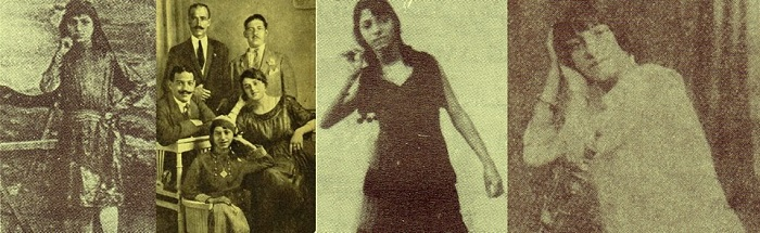 Fatheya Ahmed differnt stages of her life