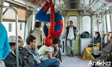 Spider-Man in Egypt