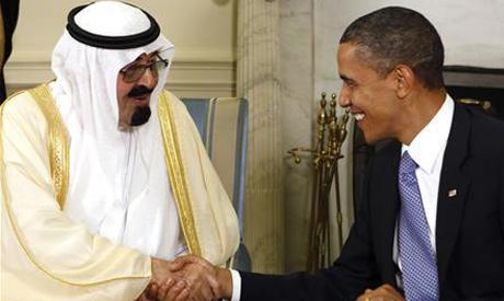 Obama, King Abdullah