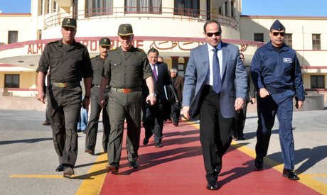 Egyptian army chief Abdel-Fattah El-Sisi