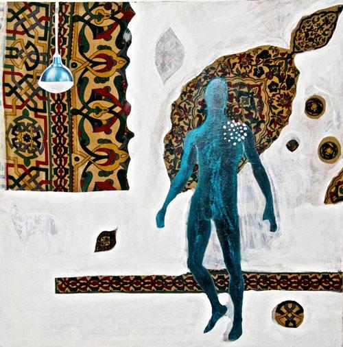 Artwork by Shayma Kamel. (Photo: courtesy of Mashrabia Gallery.)