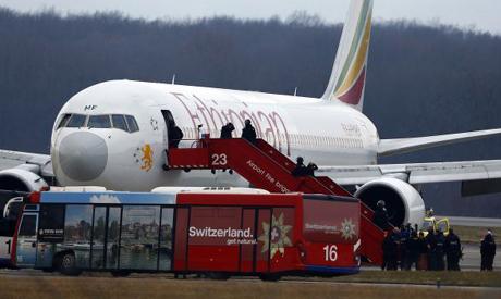 Ethiopian Airlines flight