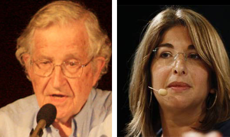 Noam Chomsky and Naomi Klein