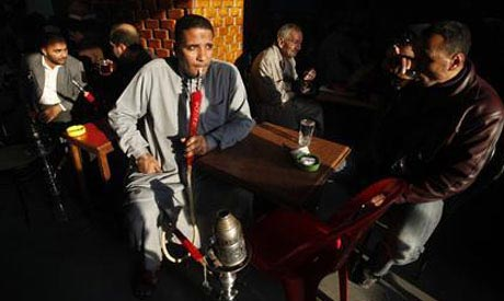 Egyptian coffee shop