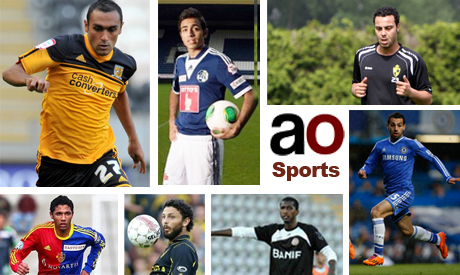 Egyptian players abroad