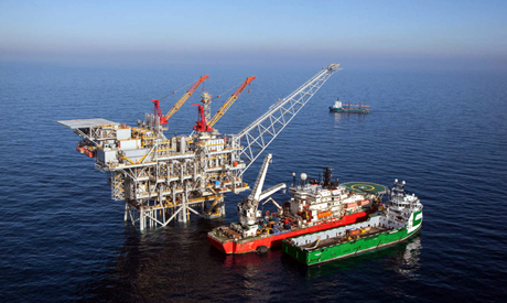 The Tamar natural gas rig