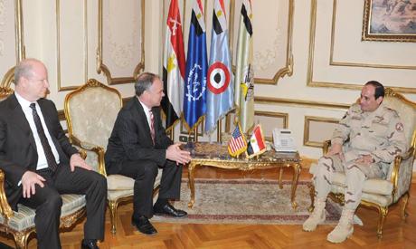 Tim Kaine and El-Sisi